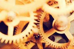 Grunge przekładnia, cog toczy tło Przemysłowa nauka, clockwork, technologia Fotografia Royalty Free