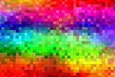Grunge Psychedelic Mosaic Royalty Free Stock Images