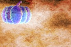 Grunge Pumpkin Background Stock Image