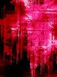 Grunge punk spalmato Fotografie Stock Libere da Diritti