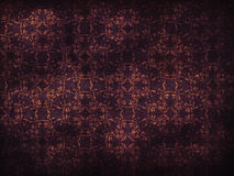 Grunge purple flower pattern background Royalty Free Stock Photography