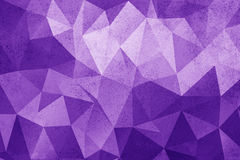 Grunge purple polygonal vintage old background. Stock Image
