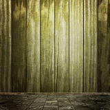 Grunge pusty izbowy wnętrze Obraz Stock