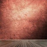 Grunge pusty izbowy wnętrze Obrazy Royalty Free