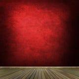 Grunge pusty izbowy wnętrze Zdjęcia Stock