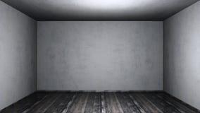 grunge pusty pokój Obrazy Royalty Free