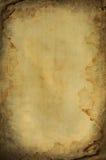Grunge queimou-se e espaço de papel molhado Foto de Stock Royalty Free