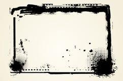Grunge Ränder vektor abbildung