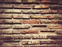 Grunge brick wall texture for background Stock Images