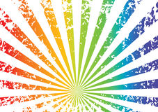 Grunge rainbow background Stock Photo