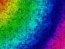 Grunge rainbow background Stock Photography
