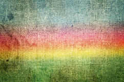 Grunge rainbow background Stock Image