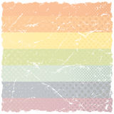 Grunge Rainbow Pattern Royalty Free Stock Image