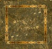 grunge ramowego skórzany zdjęcie Zdjęcie Royalty Free