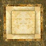 grunge ramowego skórzany zdjęcie Obrazy Stock