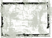 grunge ramowy wektor Obrazy Royalty Free