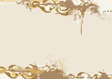 Grunge Rand. Lizenzfreie Stockbilder