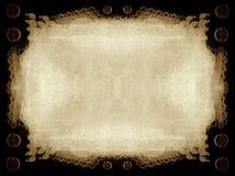 Grunge Rand und Hintergrund Stockbild