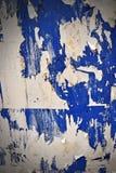 Grunge rasgou a parede do poster Fotos de Stock