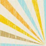 Grunge ray background. royalty free illustration