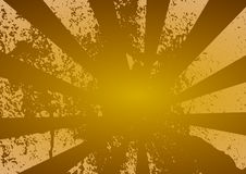 Grunge Rays - Yellow Royalty Free Stock Image