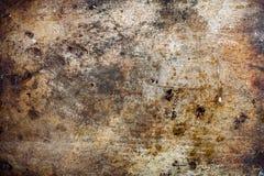 Grunge rdzewiał metal textured tło fotografia royalty free