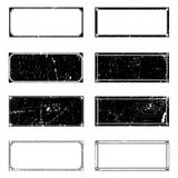 Grunge Rectangle Frames Royalty Free Stock Images