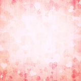 Grunge red abstract heart background Stock Photo