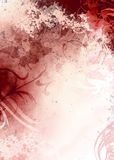 Grunge Red Background. Hi resolution background image file Stock Photo