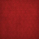 Grunge red background with ancient ornament stock illustration