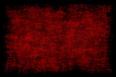 Grunge Red Background Stock Photography