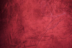 Grunge red background texture close up  - Old Grungy red wall Royalty Free Stock Photography