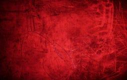 Grunge red background texture - dark red valentine`s day backdro Stock Photo
