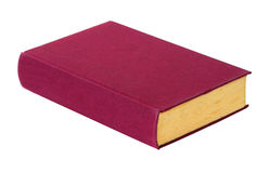 Grunge red book Stock Images