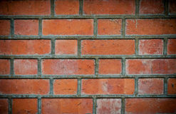 Grunge red brick pattern background. Old grunge red brick wall pattern background Stock Images
