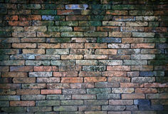 Grunge red brick wall Stock Photos