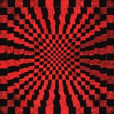 Grunge red checkered. Abstract  background Stock Images