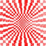 Grunge red checkered. Abstract  background Royalty Free Stock Images