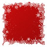 Grunge red Christmas background Royalty Free Stock Photos