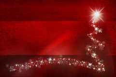 Grunge red colored Xmas copy space background Royalty Free Stock Photography