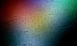 Grunge red green blue color mixture wall texture of concrete floor background for creation abstract.