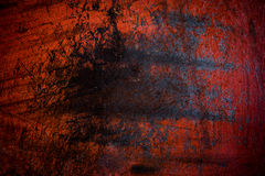 Grunge red iron rust background Stock Images