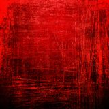 Grunge red paint background Stock Images