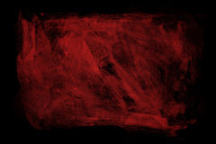 Grunge red paint background texture Stock Photography