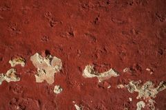 Grunge red paint texture in Mexico Stock Photos