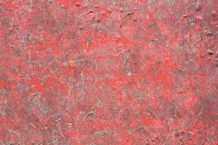 Grunge red painted texture Royalty Free Stock Photo