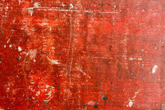 Grunge red painted wooden textured background. Painted wood background. High res macro photo Royalty Free Stock Images