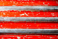 Grunge red stripe texture background Stock Photography