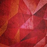 Grunge vine background with triangles texture Royalty Free Stock Images