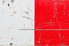 Grunge red and white metal surface texture stock photos